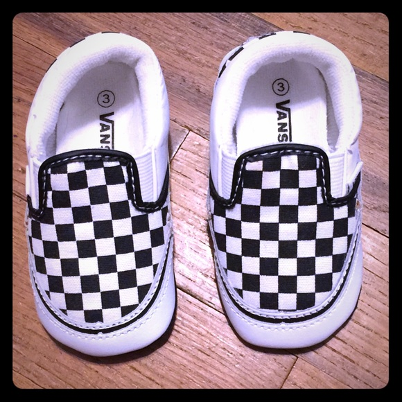 online for sale buy sale cozy fresh Infant Vans Shoes Black White Checkered